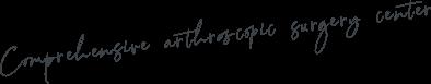 Comprehensive arthroscopic surgery center