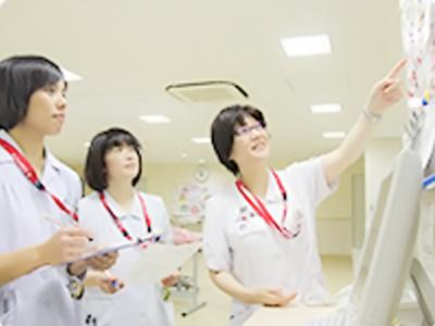 看護師との業務ミーティング