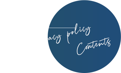 Privacy policy Contents